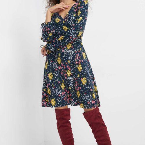Elegantes Kleid im Blumenprint