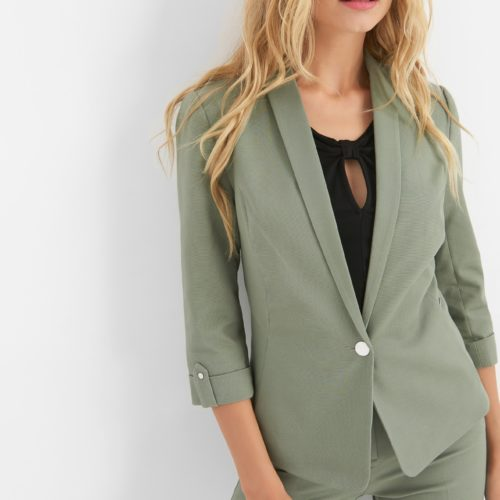 3/4-Office Blazer mit Details