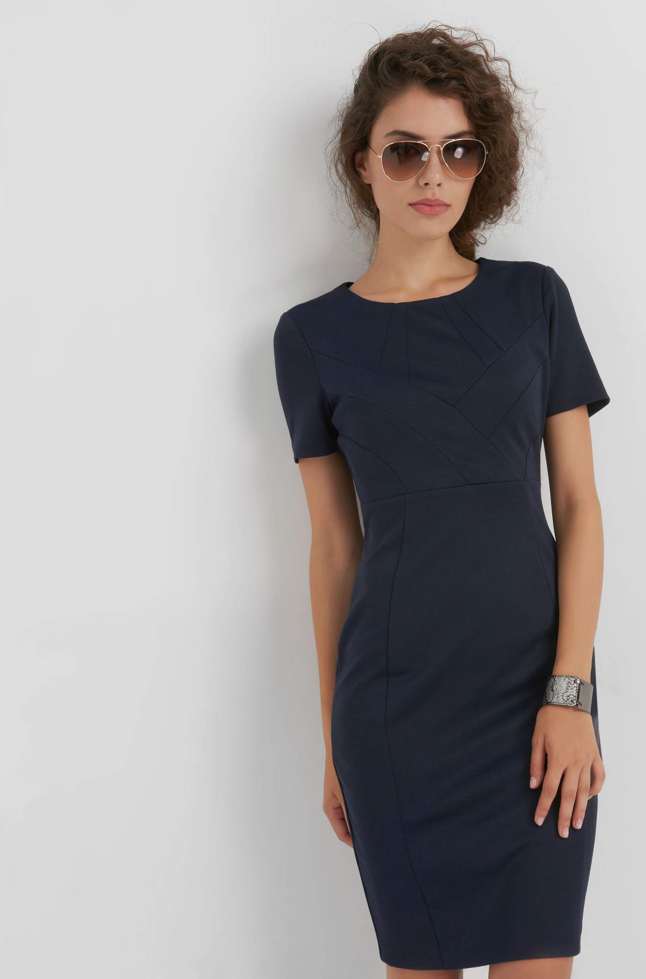 Bodycon-Businesskleid
