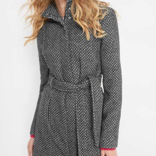 Mantel mit Jacquard-Muster