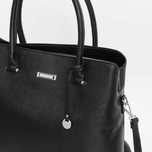 City-Bag mit Metall-Details