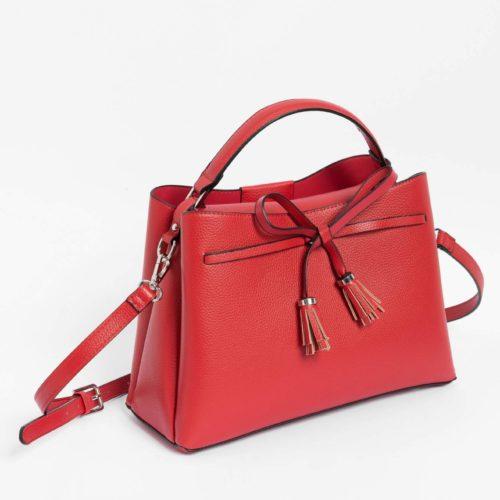 Kleine Handtasche mit Schleife