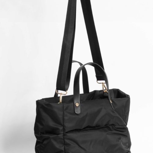 Shopper-Tasche in Steppoptik