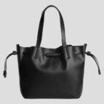 Shopper-Tasche mit Kordelzug