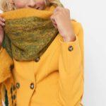 Schal in kuscheliger Wolloptik
