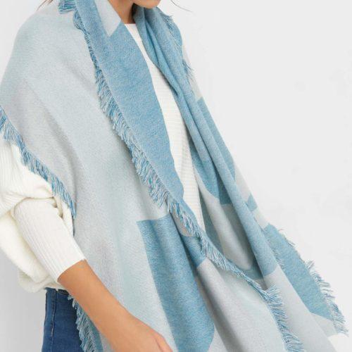 Softer Schal mit Muster
