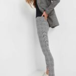 Leggings mit Karomuster