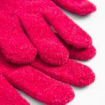 Handschuhe aus Chenille