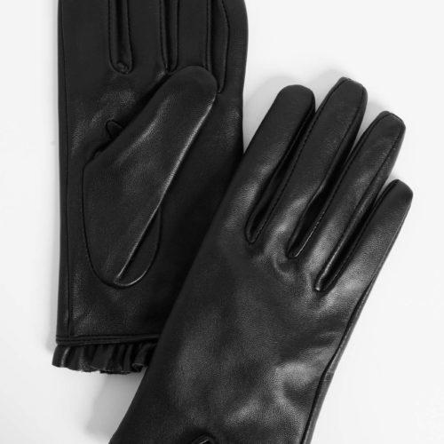 Handschuhe mit Volant