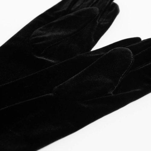 Festliche Handschuhe aus Samt