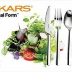 Fiskars Besteck-Set, 24-teilig, Qualitätsstahl, Silber/Poliert, Functional Form, 1002949