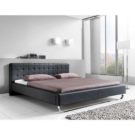 Meise Möbel Dormeta Polsterbett Bett, Kunstleder-Bett mit Liegefläche