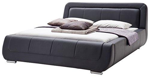 Meise Möbel Polsterbett Bett, Bett mit Kunstlederbezug, Bett Liegefläche