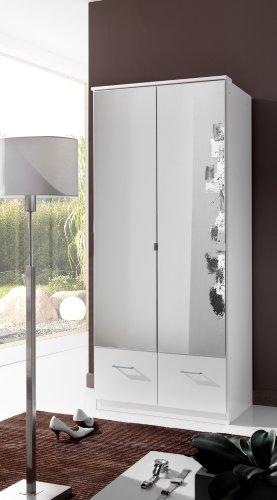 Wimex Kleiderschrank/ Drehtürenschrank Imago, 3 Türen, (B/H/T) 90 x 199 x 58 cm, Weiß