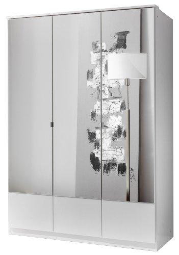 Wimex Kleiderschrank/ Drehtürenschrank Imago, (B/H/T) 135 x 199 x 58 cm, Weiß