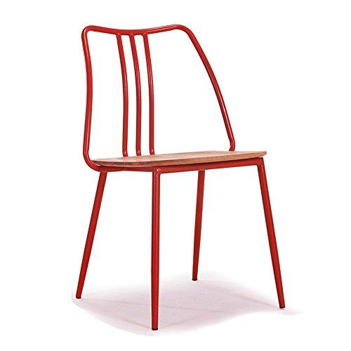 Barhocker Xiaolin- Modernes minimalistisches Stuhl-Festes Holz-Retro- Eisen, Das Stuhl-Stuhl-hintere Café-Tabellen und Stühle speist