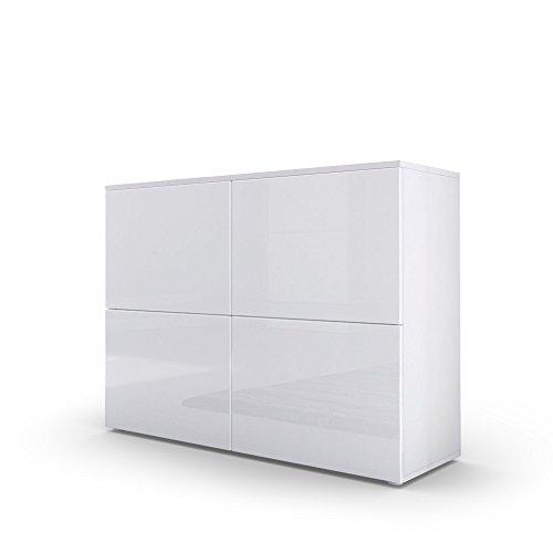 Kommode Sideboard Rova Weiß