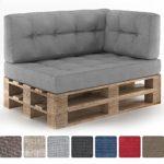 Vicco Farbvielfalt Palettensofa Palettenpolster Kissen Sofa Couch Polster Indoor Outdoor