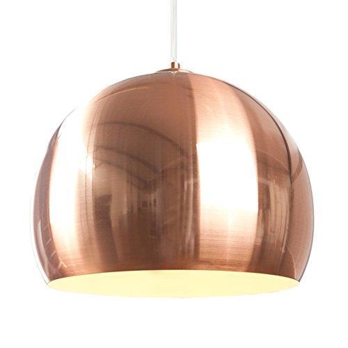 Invicta Interior Exklusive Design Hängeleuchte Copper Ball Kupfer 30cm Hängelampe