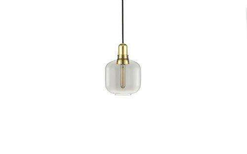 Normann Copenhagen Amp Brass Hängeleuchte Klein - Rauch/Messing - Simon Legald - Design - Pendelleuchte - Wohnzimmerleuchte